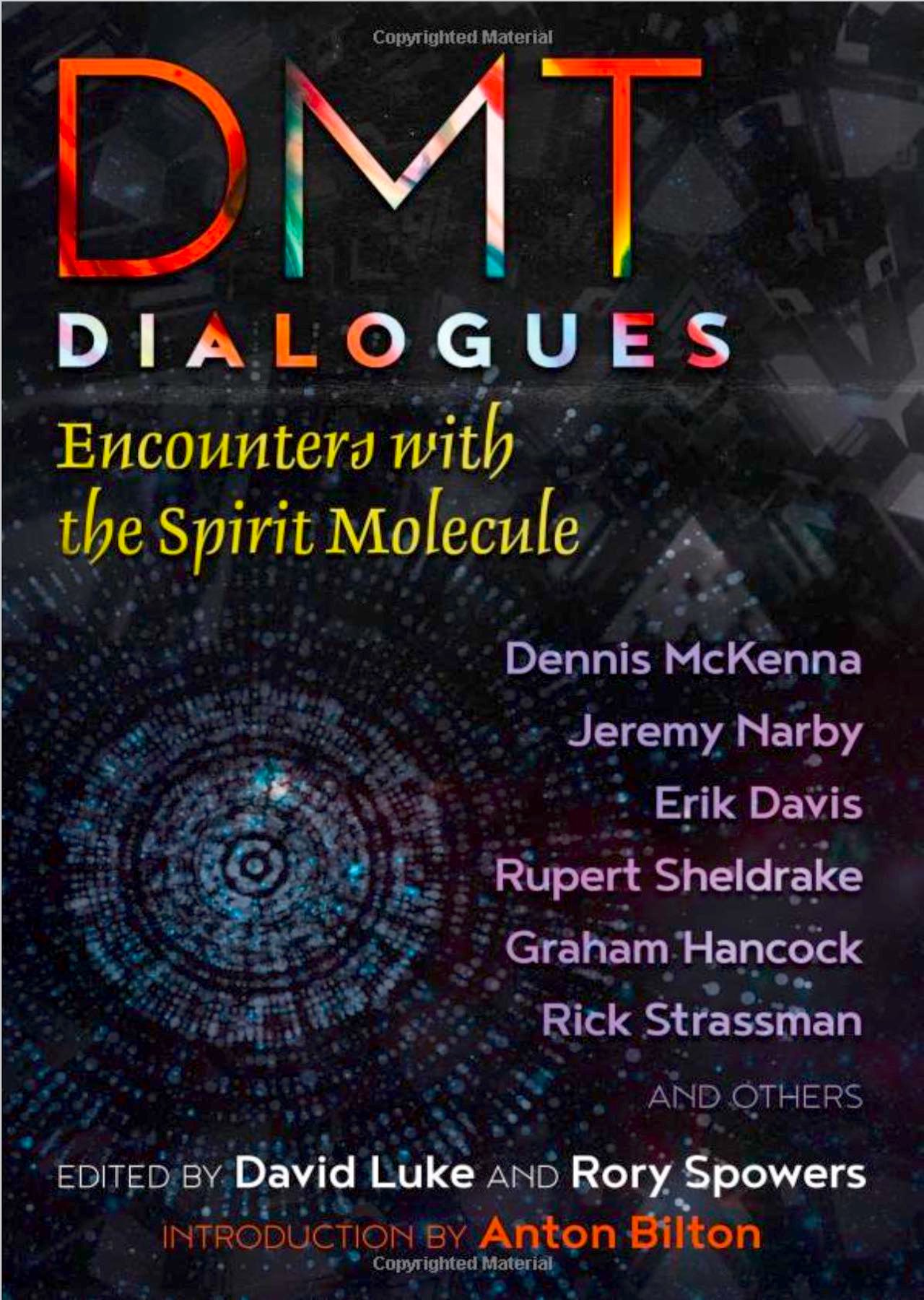 DMT Dialogues Book Cover